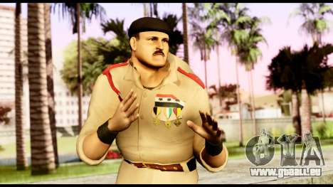 WWE Sgt Slaughter 1 für GTA San Andreas