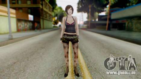 Fatal Frame 4 Misaki Punk Outfit für GTA San Andreas zweiten Screenshot