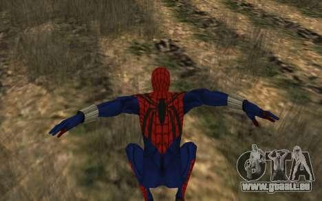 Sensational Spider-Man Ben Reilly en Robinosuke pour GTA San Andreas cinquième écran