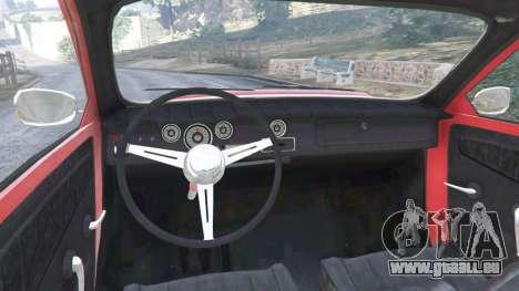 GTA 5 Saab 96 [rally] arrière droit vue de côté