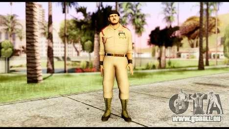 WWE Sgt Slaughter 1 pour GTA San Andreas deuxième écran