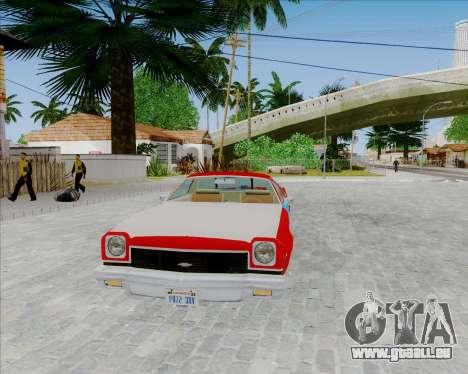 Chevrolet El Camino My Name is Earl v1.0 pour GTA San Andreas