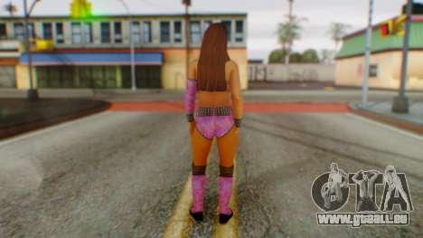 Layla WWE pour GTA San Andreas troisième écran