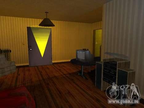 TV bouleau 37ТЦ-5141Д pour GTA San Andreas troisième écran