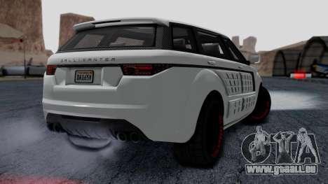 GTA 5 Gallivanter Baller LE LWB Arm IVF pour GTA San Andreas laissé vue