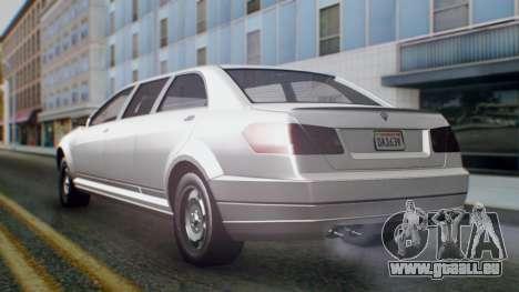 GTA 5 Benefactor Stretch E pour GTA San Andreas laissé vue
