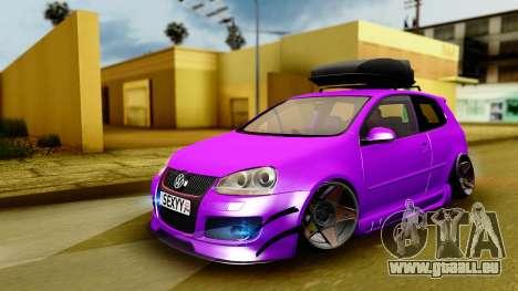 Volkswagen Golf Mk5 Stanced pour GTA San Andreas