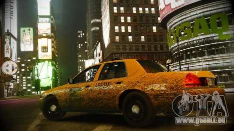 Ford Crown Victoria L.C.C Taxi pour GTA 4 Vue arrière