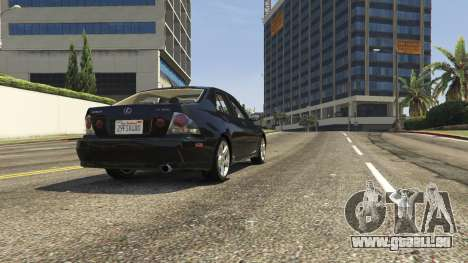 Lexus IS300 Tunable 1.0 für GTA 5