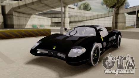 Ferrari P7-2 Shadow pour GTA San Andreas