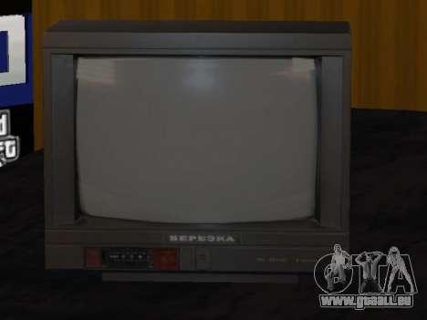 TV bouleau 37ТЦ-5141Д pour GTA San Andreas deuxième écran