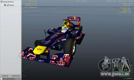 Red Bull F1 v2 redux für GTA 5
