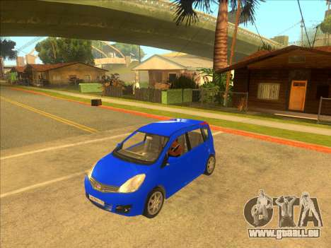 Nissan Note v0.5 Beta pour GTA San Andreas