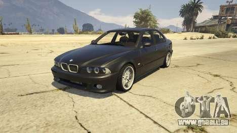 BMW M5 E39 1.1 pour GTA 5