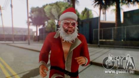 GTA Online Festive Surprise Skin 2 für GTA San Andreas