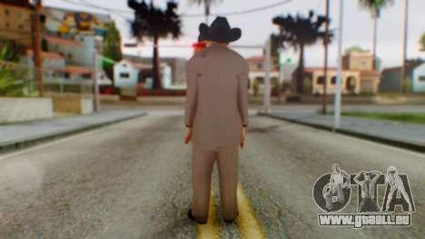 WWE Jim Ross pour GTA San Andreas troisième écran