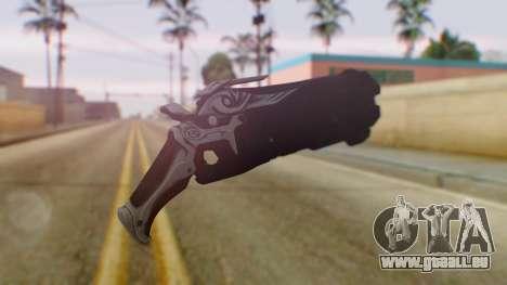 Reaper Weapon - Overwatch pour GTA San Andreas deuxième écran