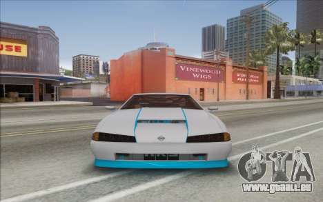 Elegy DRIFT KING GT-1 [2.0] (New wheels) für GTA San Andreas zurück linke Ansicht
