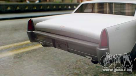 GTA 5 Vapid Chino Tunable IVF PJ pour GTA San Andreas vue arrière
