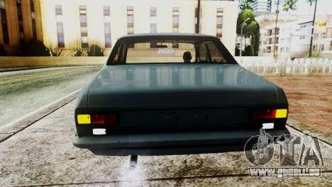 Ford Escort Mk1 pour GTA San Andreas vue arrière