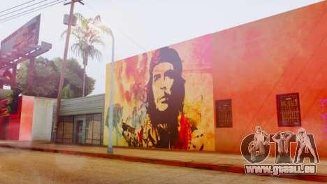 Che Guevara Grove Street pour GTA San Andreas troisième écran