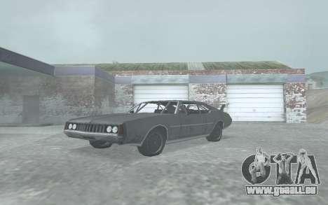 Clover Stock Car pour GTA San Andreas