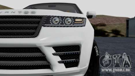 GTA 5 Gallivanter Baller LE LWB Arm IVF pour GTA San Andreas vue de droite