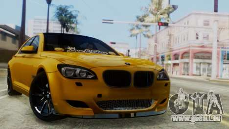 BMW 750Li M Sport für GTA San Andreas
