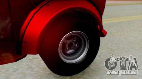 Mini Miglia für GTA San Andreas zurück linke Ansicht