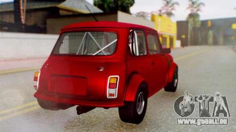Mini Miglia für GTA San Andreas linke Ansicht