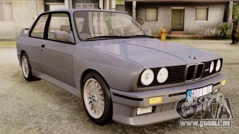 BMW M3 E30 1991 Stock für GTA San Andreas