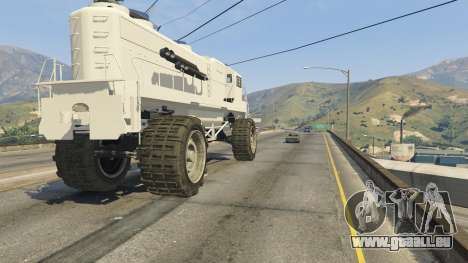 GTA 5 Monster Train volant