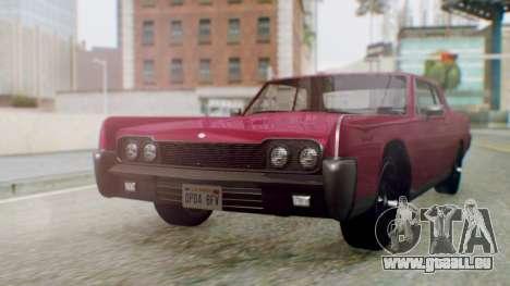 GTA 5 Vapid Chino Tunable PJ pour GTA San Andreas