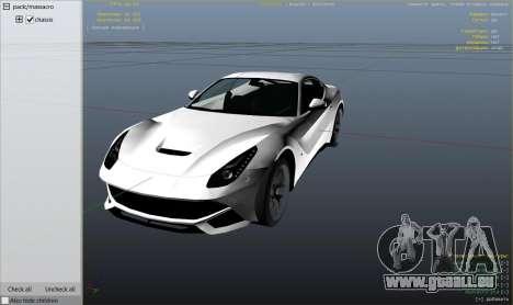 Ferrari F12 Berlinetta 2013 pour GTA 5