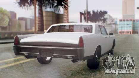 GTA 5 Vapid Chino Tunable IVF PJ pour GTA San Andreas laissé vue