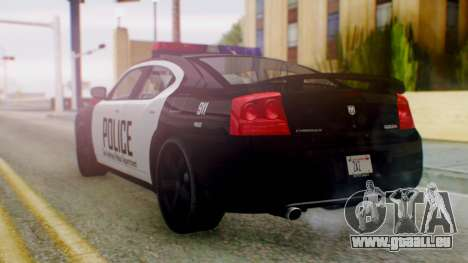 New Police SF für GTA San Andreas linke Ansicht