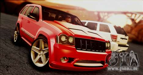 Jeep Grand Cherokee SRT8 Final version pour GTA San Andreas