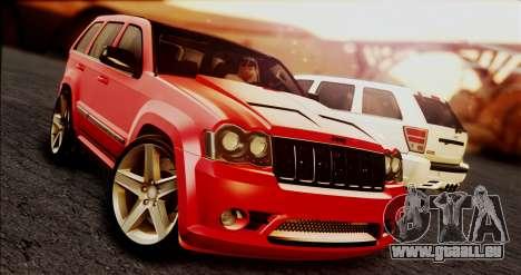 Jeep Grand Cherokee SRT8 Final version für GTA San Andreas