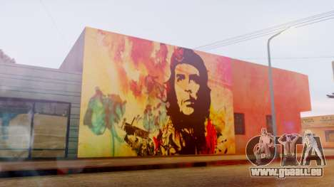 Che Guevara Grove Street pour GTA San Andreas deuxième écran