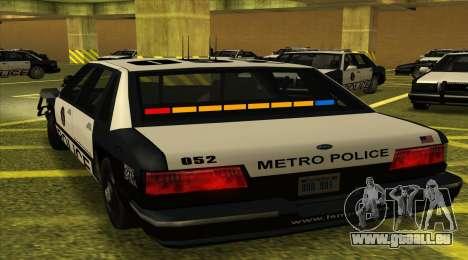 Police SF für GTA San Andreas linke Ansicht