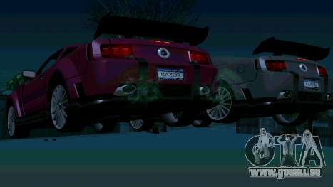 Ford Mustang GT pour GTA San Andreas roue