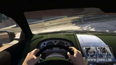 GTA 5 Aston Martin DBS Rückansicht