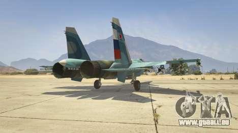 GTA 5 Su-33 sixième capture d'écran
