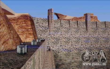 Nouveau barrage pour GTA San Andreas quatrième écran