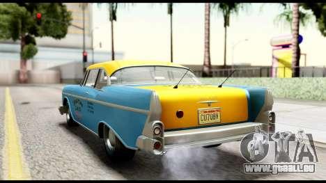 GTA 5 Declasse Cabbie v2 IVF pour GTA San Andreas laissé vue
