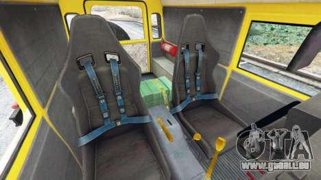 GTA 5 Land Rover Defender 90 1990 v1.1 rechte Seitenansicht