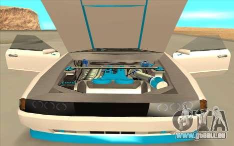 Elegy DRIFT KING GT-1 [2.0] (New wheels) pour GTA San Andreas vue arrière