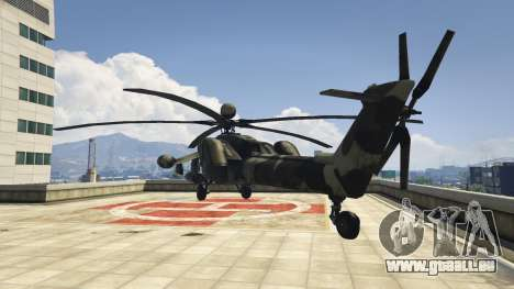 Mi-28 Night hunter für GTA 5