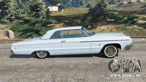 GTA 5 Chevrolet Impala SS 1964 v2.0 linke Seitenansicht