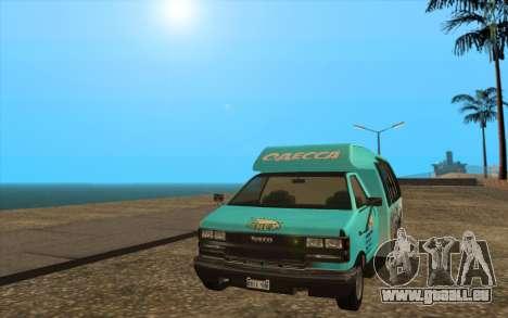 Iveco Custom Odessa pour GTA San Andreas